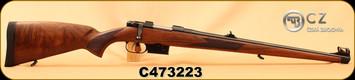 "CZ - 223Rem - Model 527 FS - Turkish Walnut Mannlicher-style stock/Blued, 20.5""Barrel, 1:9""Twist, Mfg# 03013, S/N C473223"