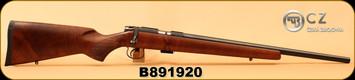 """CZ - 22LR - Model 452-2E ZKM Varmint - Turkish Walnut/Blued, 21""""Heavy Barrel, dovetail groove, S/N B891920"""