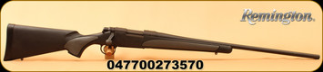 "Remington - 7mm-08Rem - Model 700 SPS - Bolt Action Rifle - Black Synthetic Stock/Blued Finish, 24"" Barrel, 4 Rounds, Mfg# 27357"
