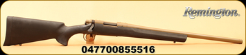 """Remington - 6.5Creedmoor - 700 SPS Tactical Coyote Tan - Bolt Action Rifle - Matte Black Hogue Overmolded Pillar-Bedded Stock/Coyote Tan Finish, 22"""" Heavy Barrel, 4 Rounds, X-Mark Pro Externally Adjustable Trigger, Mfg# 85551"""