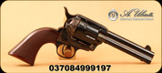 "Uberti - 357Mag - El Patrón - Single Action Revolver - 1-pc Checkered Walnut Grips/Case Hardened Frame/Blued, 4.75""Barrel, 6-shot Fluted, Numbered Cylinder, Fitted with Wolff springs, Mfg#345173"