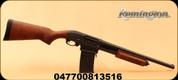 "Remington - 12Ga/3""/18.5"" - Model 870 DM Hardwood - Pump Action Shotgun - Hardwood Stock/Matte Blued Finish, 6 Rounds, Detachable Box Magazine, Mfg# 81351"