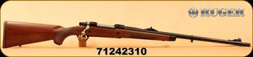 """Ruger - 300WinMag - M77 Hawkeye African - American Walnut with Ebony Forend Cap/Satin Blued, 23""""Barrel, LC6 Trigger, Mfg# 47119, S/N 71242310"""
