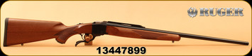 "Ruger - 22-250 - No 1-B Standard Rifle - Single Shot - Select American Walnut/Blued, 26""Barrel, Semi-Beavertail Forearm, Mfg# 01310, S/N 13447899"