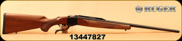 "Ruger - 270Win - No 1-B Standard - Single-Shot Centerfire Rifle - American Walnut Stock/Blued Barrel, 26"" Barrel, Mfg# 01314, S/N 13447827"