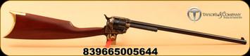 "Taylors & Co - 44-40 - Uberti - Cattleman S/A Revolving Carbine - Walnut/Blued Finish with Case Hardened Frame, 18""Barrel, Mfg# 429"