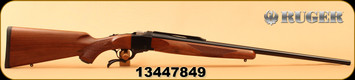 "Ruger - 270Win - No 1-B Standard - Single-Shot Centerfire Rifle - American Walnut Stock/Blued Barrel, 26"" Barrel, Mfg# 01314, S/N 13447849"