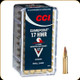 CCI - 17 HMR - 20 Gr - Gamepoint - JSP - 50ct - 0052