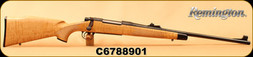 "Consign - Remington - 30-06Sprg - Model 700 BDL 200th Anniversary Eliphalet Remington Edition - Tiger Maple Stock/Blued, 22""Barrel, Hinged Floorplate, Mfg# 6063 - Unfired w/o box"