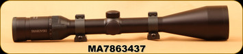 "Consign - Swarovski - Habicht - 4-12x50A - Riflescope - Matte Black, #4A Reticle, 1"" Talley Rings, Bikini Lens Caps"