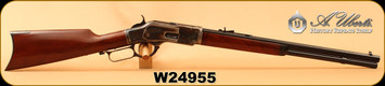 "Used - Uberti - 357Mag - 1873 Short Rifle - Lever Action - Walnut/Genuine Case Hardening/Blued, 20""Octagonal Barrel, Unfired w/o box"