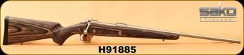 """Used - Sako - 30-06Sprg - Grey Wolf 85M - Grey Laminate/Stainless, 22.75""""Barrel, c/w Sako Optilocks"""