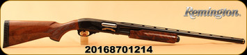 "Remington - 12Ga/3""/26"" - Model 870 200th Anniversary Limited Edition - Pump Action - Walnut Stock/Blued, 4 Rounds, #1214 of 2016 made, Mfg# 82089, S/N 20168701214"