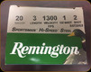 "Remington - 20 Ga 3"" - Shot 2 - 1 oz - 25ct - 20879"