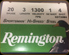 "Remington - 20 Ga 3"" - Shot 4 - 1 oz - 25ct - 20881"