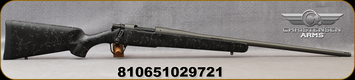 "Christensen Arms - 6.5PRC - Mesa - Bolt Action Rifle - Sporter Black/Gray Webbing Carbon Fiber Composite Stock/Tungsten Cerakote, 24""Threaded Barrel, 1:8 Twist, Mfg# 801-01021-00"