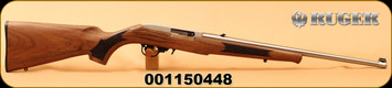 "Ruger - 22LR - 10/22 Classic III - Semi-Auto - Deluxe Altamont French Walnut/Stainless, 20""Barrel, TALO Exclusive, Mfg# 21196, S/N 001150448"