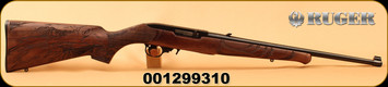"Ruger - 22LR - 10/22 Eagle - Semi-Auto - Walnut ""American Eagle""/Satin Black, 18.5"", MFG# 21199, S/N 001299310"