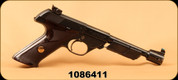 "Consign - Hi Standard - 22LR - Model 102 Supermatic Citation - Checkered Walnut Grips/Blued, 6.75""Barrel, Factory Weights, 2 Magazines"