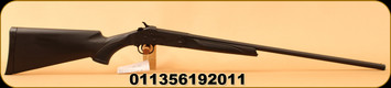 "Stevens - 410Ga/3""/26"" - 301 Single Shot Shotgun - Black Synthetic/Matte Black Finish, Full Choke, Mfg# 19201"