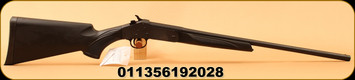 "Stevens - 410Ga/3""/22"" - 301 Compact Single Shot Shotgun - Synthetic Stock Black/Matte Black, Modified Choke, Mfg# 19202"