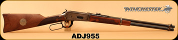 "Consign - Winchester - 38-55Win - Model 1894 Alberta Diamond Jubilee Edition - Lever Action - High Grade Walnut/Case Hardened Receiver/Blued, 20""Barrel - In Original Box with Commemorative Ammo"