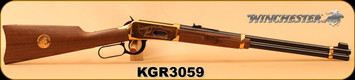 """Consign - Winchester - 30-30Win - Model 1894 Klondike Gold Rush Commemorative Edition - Walnut/Brass Receiver & Butt Plate/Blued, 20""""Barrel, Made in 1975, marks on buttstock & Forend - No Box"""