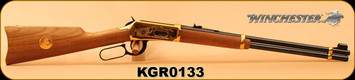 "Consign - Winchester - 30-30Win - Model 1894 Klondike Gold Rush Commemorative Edition - Walnut/Brass Receiver & Butt Plate/Blued, 20""Barrel, Made in 1975, S/N KGR0133 - In original box w/commemorative ammo"