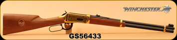 "Consign - Winchester - 30-30Win - Model 1894 Golden Spike Carbine - Lever Action - Walnut Stock/Gold Plated Reciever, Butt Plate & Barrel Band/Blued, 20"" Barrel, Saddle Ring, Made in 1969 - In Original Box"