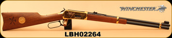 "Consign - Winchester - 44-40Win - Model 1894 Little Big Horn Commemortive Edition - Lever Action - Walnut/Brass Receiver/Blued, 20""Barrel - In Original box"