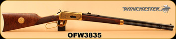 "Consign - Winchester - 38-55Win - Model 1894 Oliver F. Winchester Commemorative Edition - Lever Action - High Grade Walnut/Brass Receiver/Blued, 24""Octagonal Barrel - In Original Box"