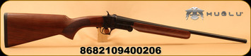 "Huglu - 410Ga/3""/20"" - 301A - Single Shot - Turkish Walnut/Case Hardened Receiver/Blued Barrel"