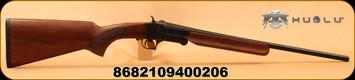 "Huglu - 410Ga/3""/20"" - 301A - Single Shot - Turkish Walnut/Case Hardened Receiver/Blued Barrel"