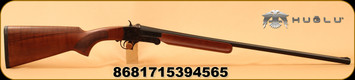 "Huglu - 28Ga/2.75""/26"" - 301A - Single Shot - Turkish Walnut/Case Hardened Receiver/Blued Barrel"
