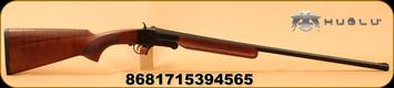 "Huglu - 28Ga/2.75""/26"" - 301A - Single Shot - Turkish Walnut/Case Hardened Receiver/Blued Barrel"