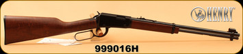 "Henry - 22LR - Classic Lever Action - American Walnut/Black Receiver/Blued, 18.5""Barrel, Mfg# H001, S/N 999016H"