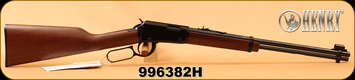 "Henry - 22LR - Classic Lever Action - American Walnut/Black Receiver/Blued, 18.5""Barrel, Mfg# H001, S/N 996382H"