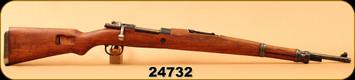 """Consign - Mauser - 8mmMauser - Yugoslavian Mauser - M48A - Wd/Blued, 24""""Barrel"""