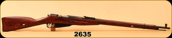 "Consign - Mosin Nagant - 7.62x54R - M91/30 - Wd/Blued, 29""Barrel, Hex Receiver"