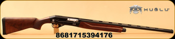 "Huglu - 12Ga/3""/28"" - Renova - Semi-Auto - Turkish Walnut/Black Reciever/Matte Black - Inertia Operating System, 5pc. Active M.Choke"