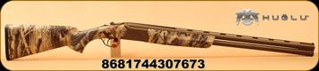 "Huglu - 12Ga/3""/28"" - Ventus - O/U - Camouflage/Bronze Cerakote, Laser Engraving, Ejectors, 5pc. Ventus Choke"