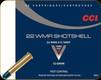 CCI - 22 WMR (Winchester Magnum Rimfire) - 52 Gr - #12 Shot Shotshell - 20ct - 25