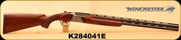 "Consign - Winchester - 20Ga/3""/27"" - Model 101 Lightweight - O/U - Walnut/Silver Receiver/Blued Barrels, Pre-Pigeon Grade, WinChoke - New in Box w/chokes & papers"