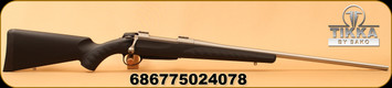 """Sako - 7mmRemMag - A7 Synthetic Stainless - Bolt Action Rifle - Black Synthetic w/Soft Touch Surfaces/Stainless Steel, 24.4""""Barrel, single-stage adjustable trigger, Mfg# JRA7S70"""