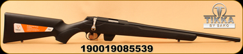 "Tikka - 22LR - Model T1X MTR - Modular Black Synthetic Stock/Blued, 20""Threaded Barrel 1/2x28, 10rd Magazine, Mfg# TF17512A138B68"