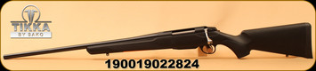 "Tikka - 30-06Sprg - T3X Lite - LH - Bolt Action Rifle - Black Modular Synthetic Stock/Blued, 22.4""Barrel, Mfg# TF1T31LL113"