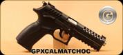 "Grand Power - 9mm Luger - X-Calibur Match OC - Black Finish, 5""Barrel, Interchangeable Backstrap, 2 magazines"