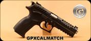 "Grand Power - 9mm Luger - X-Calibur Match - Black Finish, 5""Barrel, Interchangeable Backstrap, 2 magazines"