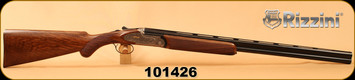 """Consign - Rizzini - 20Ga/3""""/28"""" - Artemis Light - O/U - Select Turkish Walnut Round knob Prince of Wales grip/Engraved Coin finish/Chrome-Lined Barrels, Boxlock, automatic ejectors, single selective trigger - New in case"""