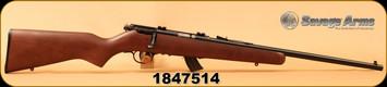 "Used - Savage - 22LR - Mark II Youth - Walnut/Blued, 19""Barrel, AccuTrigger, Weaver bases"